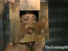 Kristina Rose Is Caned, Made To Endure Brutal Foot Torture, Pushed To The Point Of Breaking With Orgasm Denial
