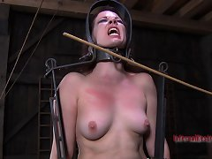 The Insidious Device That Lila Katt Is Locked Into Is A Must See For Anyone Who Enjoys Seeing Helpless Women In The Most Fucked Up Bondage