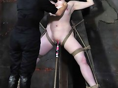 Claire Adams Confesses A Deep Desire To Be Bound So Tightly She Cannot Move So Pd Turns Her Into A Circus-freak Fuck-doll Like None Other