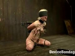 Cherry Torn Gets Her Skull Fucked, Blindfolded, And Abused