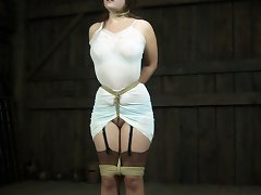 Charlotte Vale Was Far Too Full Of Herself. She Thought That She Could Handle Whatever Sadistic Ideas The Realtimebondage Crew Conjured Up