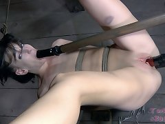 Most Girls The Size Of Elise Have Trouble Taking More Than One Cock At A Time