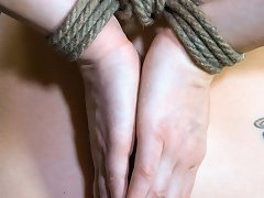 Veruca James Receives An Introduction To Rope Bondage And Submission. After Being Trained In Slave Positions, She Is Ordered To Do A Strip Tease Follo